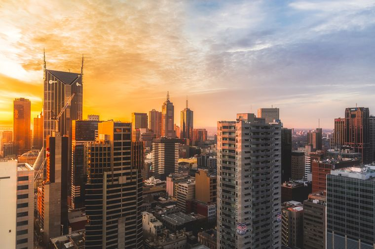 Immer noch die lebenswerteste Stadt in Australien, aber nicht mehr die lebenswerteste der Welt: Melbourne.