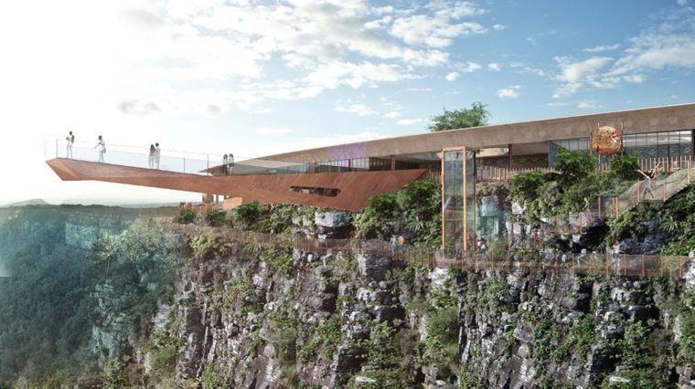 Der Skywalk am God's Window in Südafrika wird er erste seiner Art in dem afrikanischen Land und soll 2023 fertiggestellt sein.