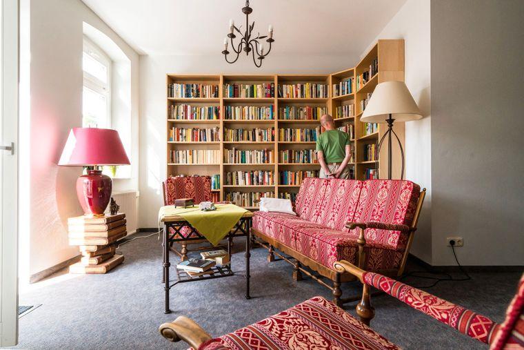 Lesezimmer im Gutshotel Groß Breesen.
