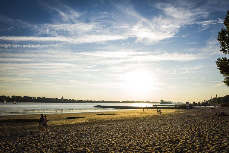 Das Falkensteiner Ufer am Elbstrand in Hamburg ist in dem Ranking der günstigste Strand.