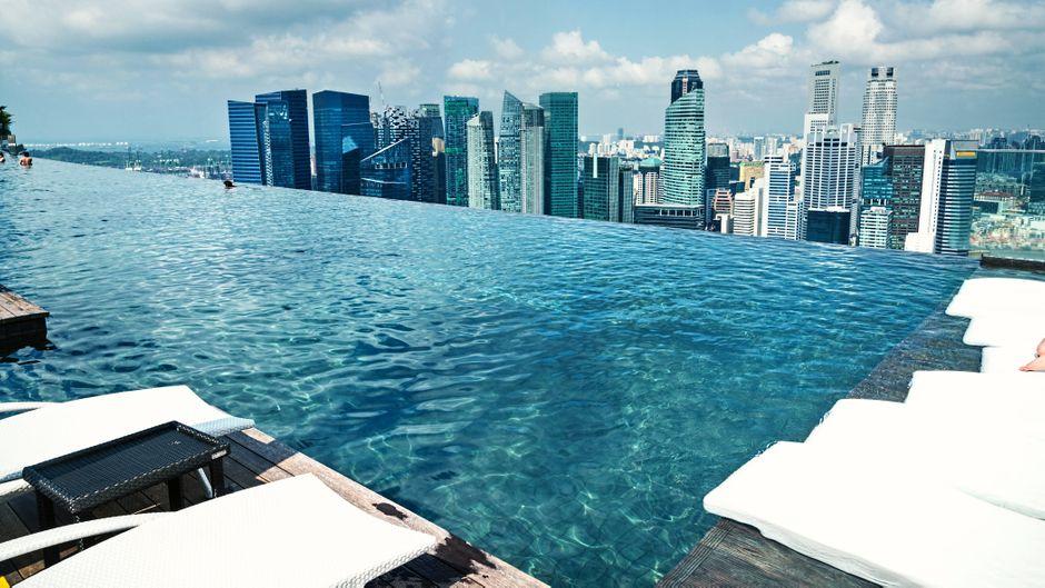 Das Marina Bay Sands gehört zu den beliebtesten Sehenswürdigkeiten Singapurs.