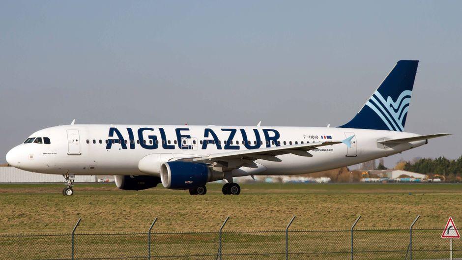 Eine Maschine von Aigle Azur – die Airline steckte schon länger in der Krise.