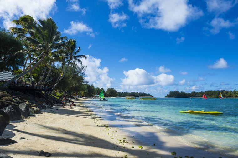 Die Cook-Inseln sind bisher corona-frei.