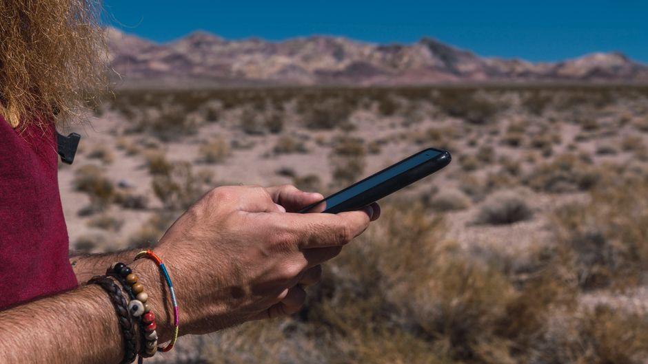 Die neue App hilft bei der Orientierung in den US-Nationalparks.