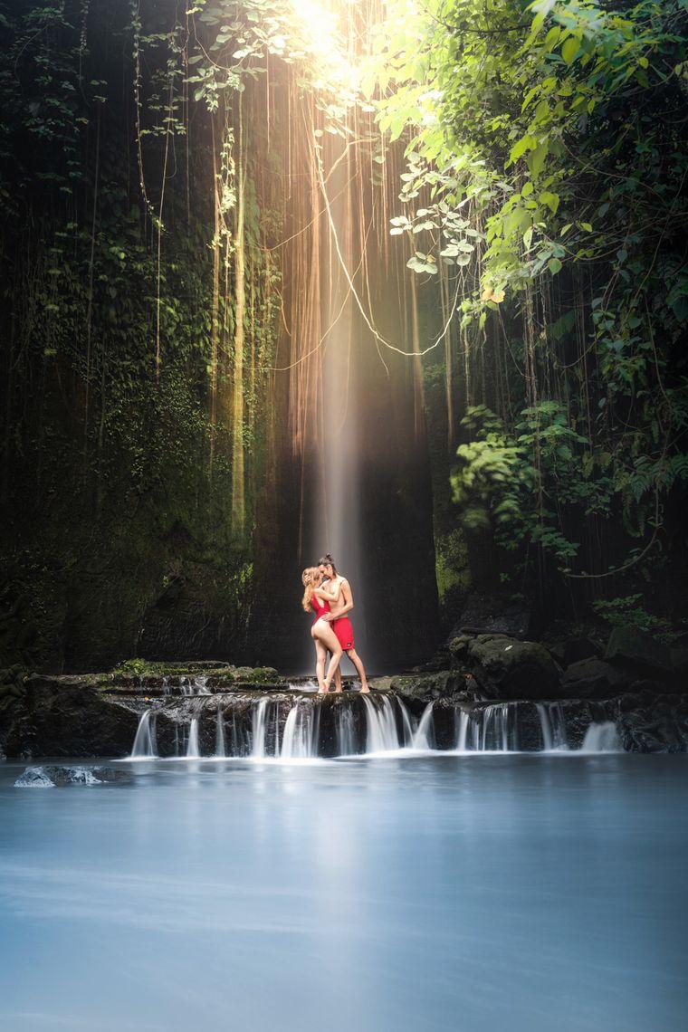 Der Sumampan Wasserfall auf Bali ist der absoluten Geheimtipps.