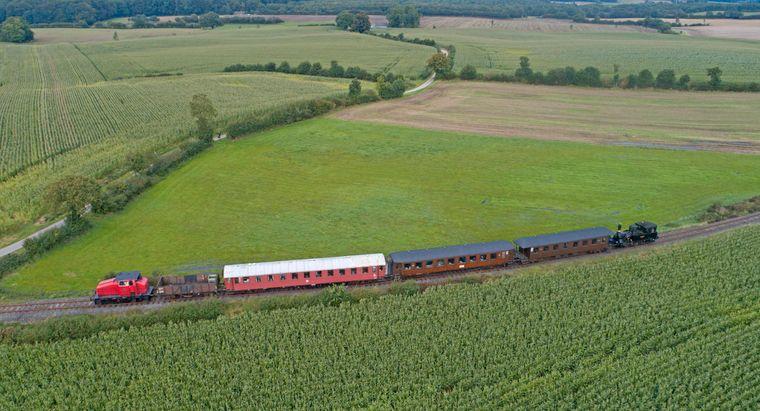 Angelner Dampfeisenbahn bei Scheggerott