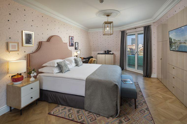 Zentral gelegenes Zimmer in Zagreb.