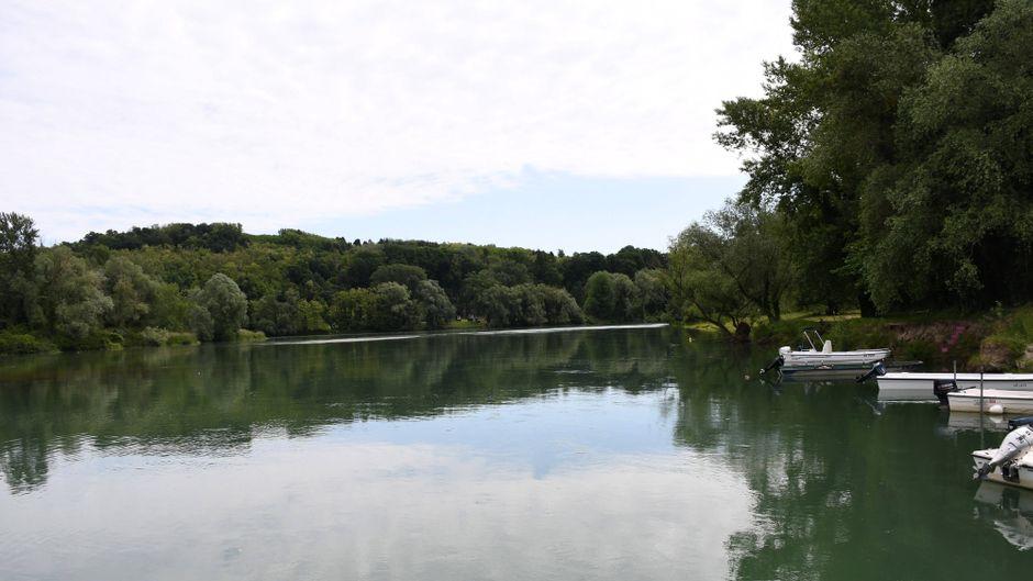 An der Mündung der Flüsse Mura und Drau befindet sich die kroatische Stadt Legrad.