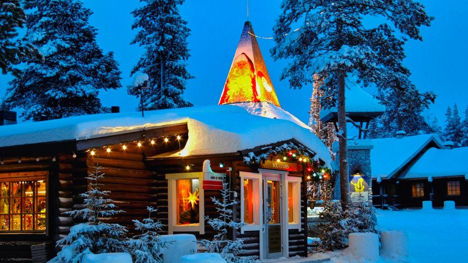Das Santa Claus Village in Rovaniemi kannst du jetzt durch eine Webcam sehen.
