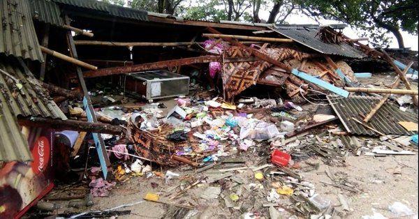 Der Tsunami verwüstete viele indonesische Orte.