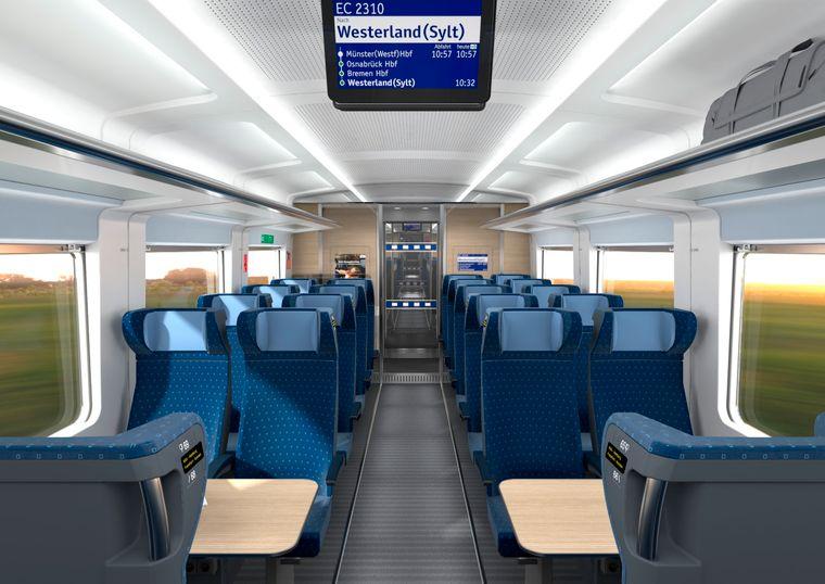 Die Deutsche Bahn verspricht den Kunden mehr Komfort – unter anderem durch mehr Platz für Gepäck.