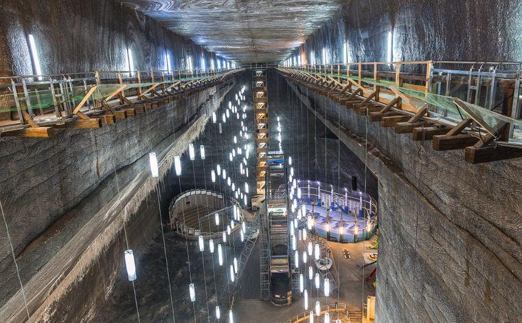 Das Salzbergwerk Turda im rumänischen Siebenbürgen hat eine wechselhafte Geschichte. Einst diente es sogar als Käselager.