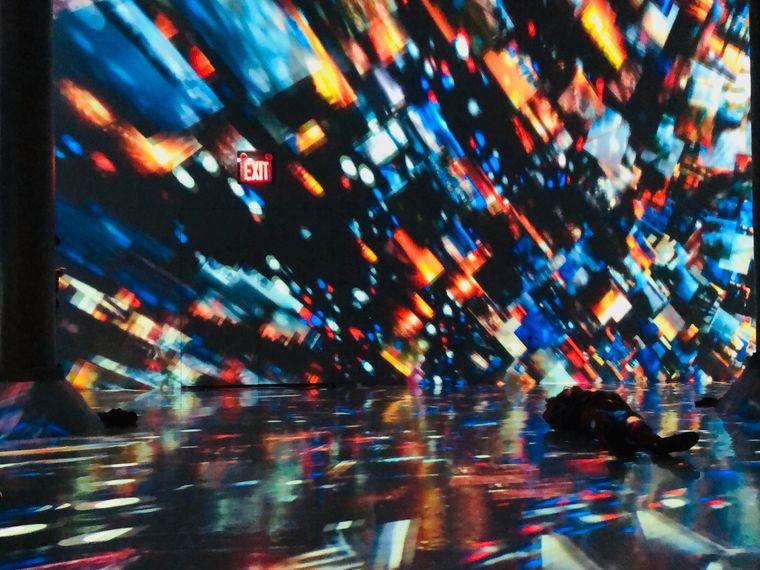 Das neue Artechouse in New York widmet sich digitaler Kunst.