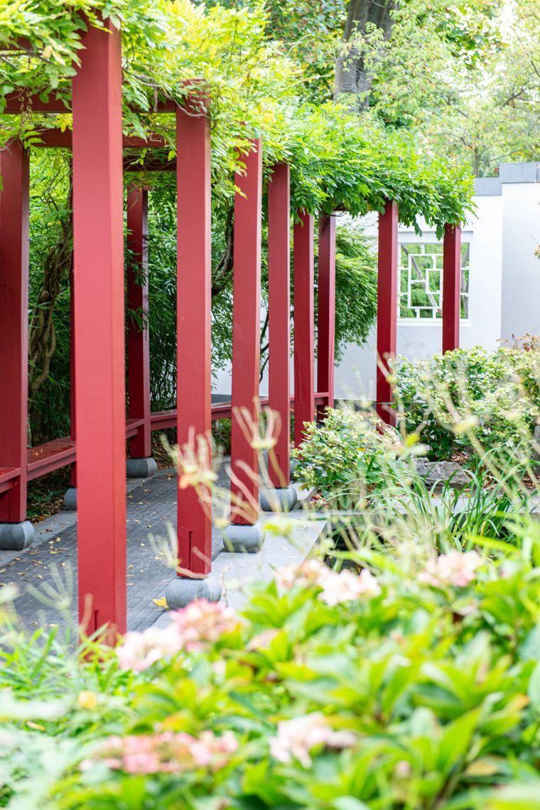 Nicht weit von der Endstation der S8 entfernt liegt der Chinesische Garten in Zeuthen.