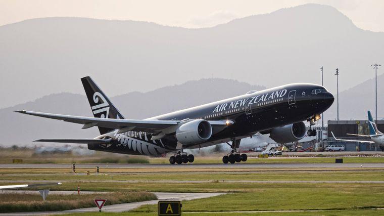 Die schwarze Lackierung des Air New Zealand-Fliegers ist zwar ein echter Hingucker, bietet aber einige Nachteile.