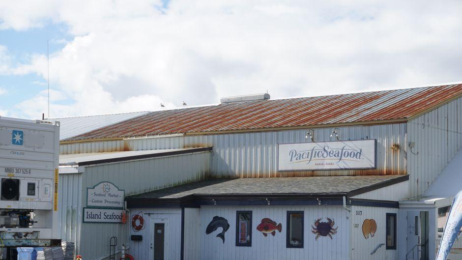 Fischverarbeitung auf der Insel Kodiak.