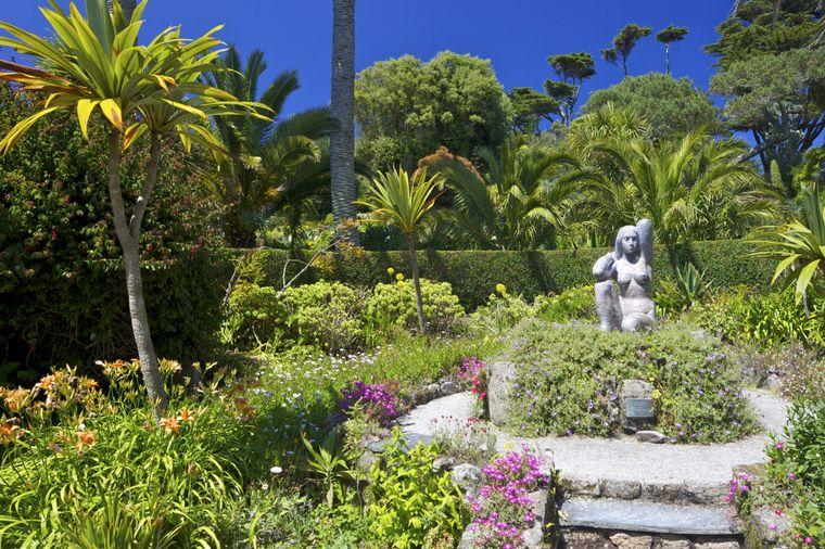 Der Tresco Abbey Garden ist die Heimat von exotischen Pflanzen aus etlichen Regionen der Welt geworden.