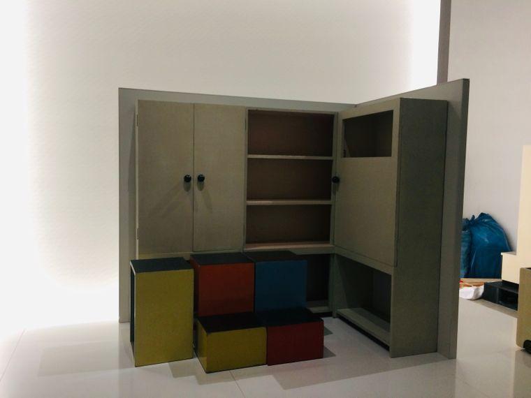 Revolutionär: Diese Kindermöbel wurden 1923 für das Bauhaus-Musterhaus Haus am Horn entworfen.