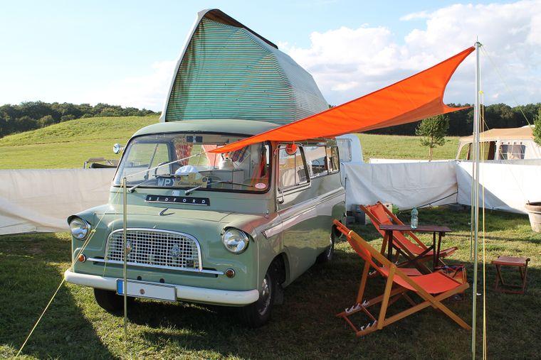 Im Jahr 2021 eröffnet das Campingmuseum auf Schloss Egeskov.