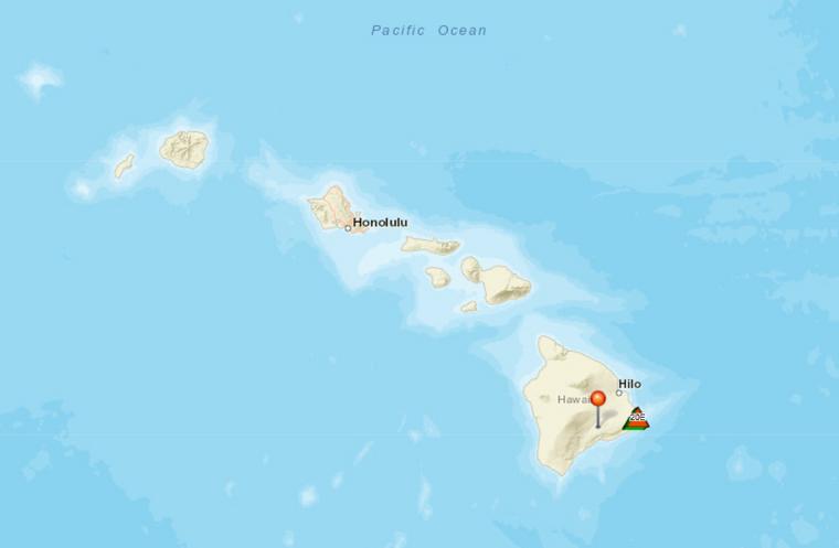 Hawaii besteht aus acht Hauptinseln – genügend Platz, um dem Vulkan aus dem Weg zu gehen.