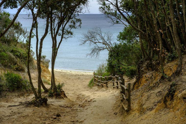Punta Ala ist der Name eines beliebten Strandes in der Toskana.