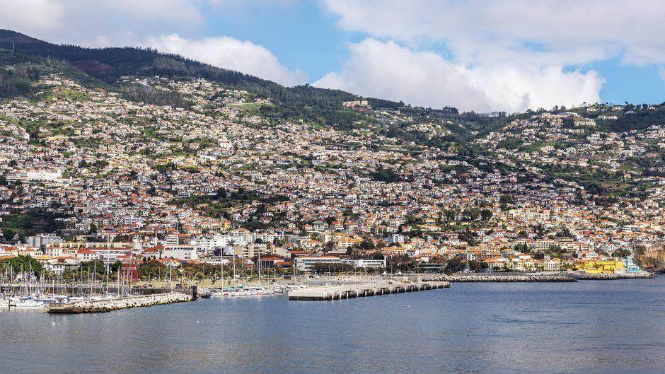 Auf der portugiesischen Insel Madeira gibt es selten Erdbeben.