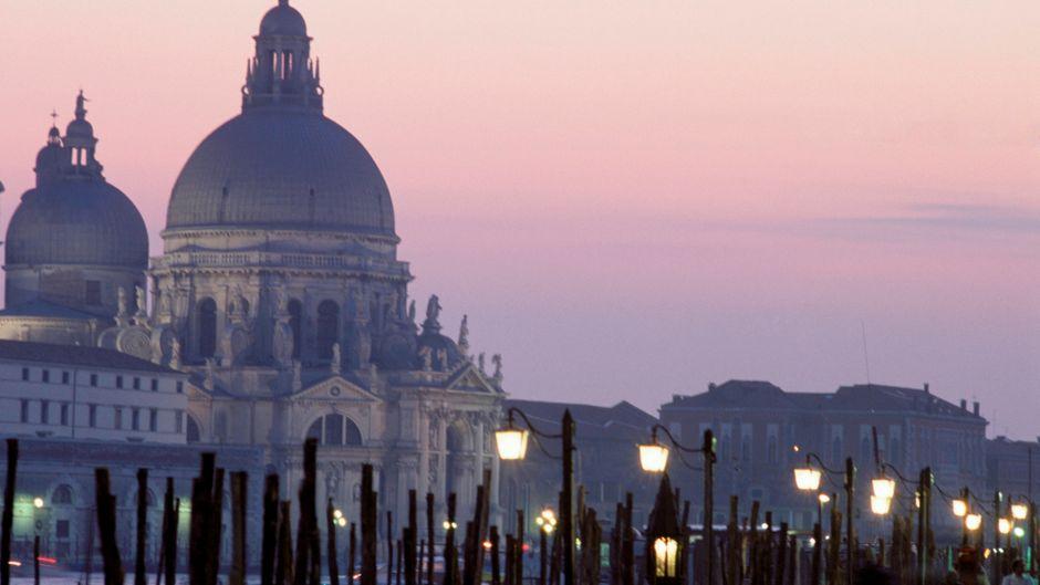 Der Markusdom in Venedig, Italien.