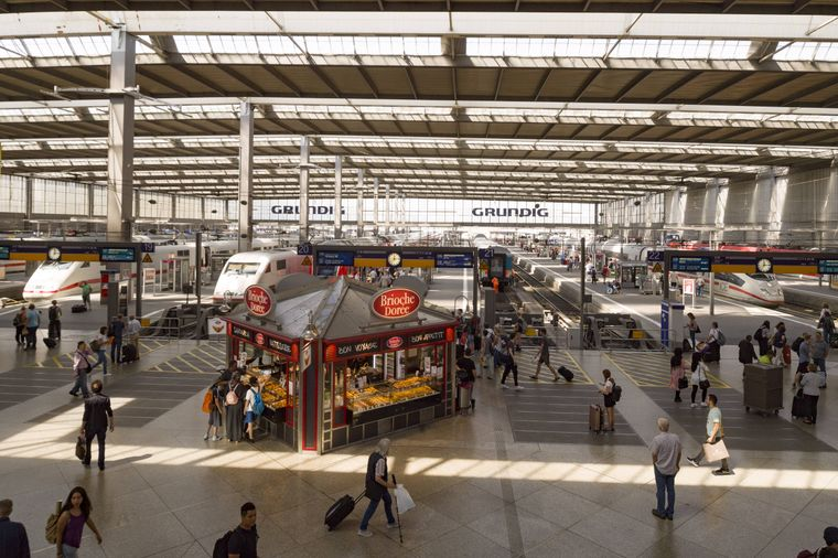 Hauptbahnhof München.
