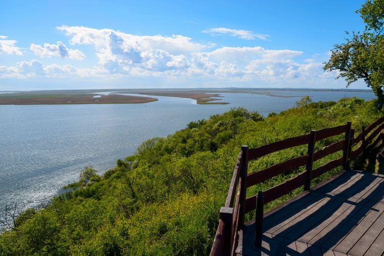 Atemberaubende Ausblicke von der Steilküste bieten sich auf der polnischen Insel Wollin.