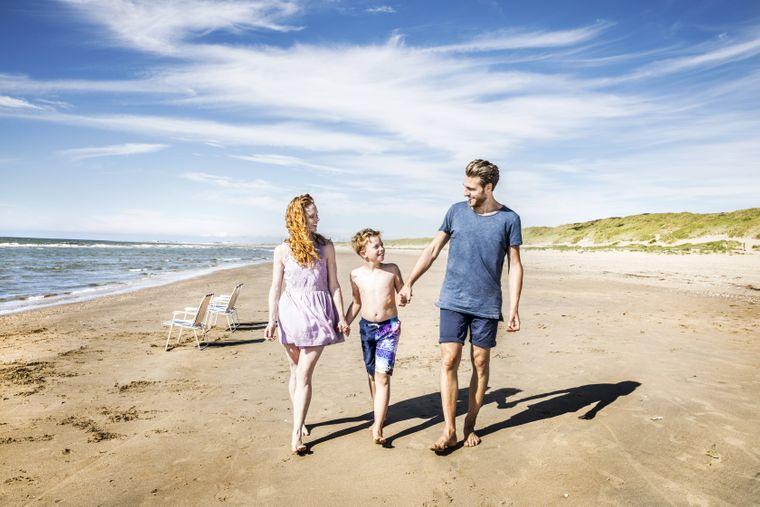 Familienurlaub in Zandvoort.