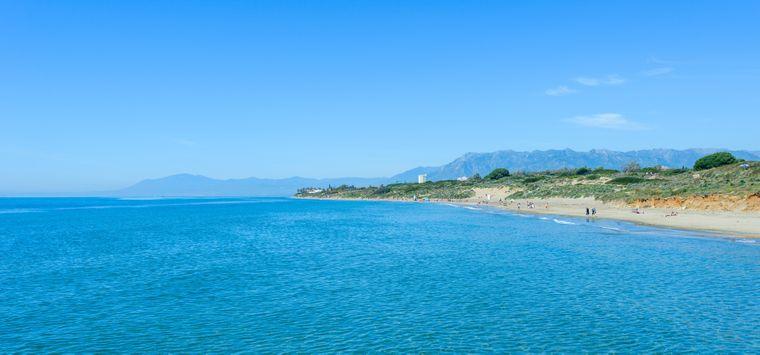 Playa las Calas del Pino: Der wunderschöne Pinienstrand.