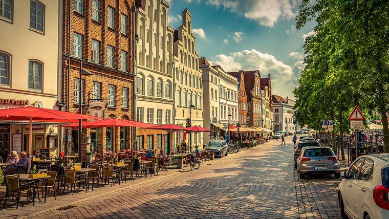 Ostern in Lübeck.