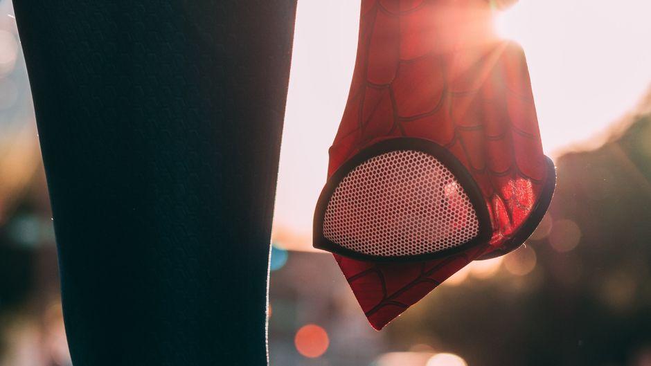 Spider-Man-Maske.