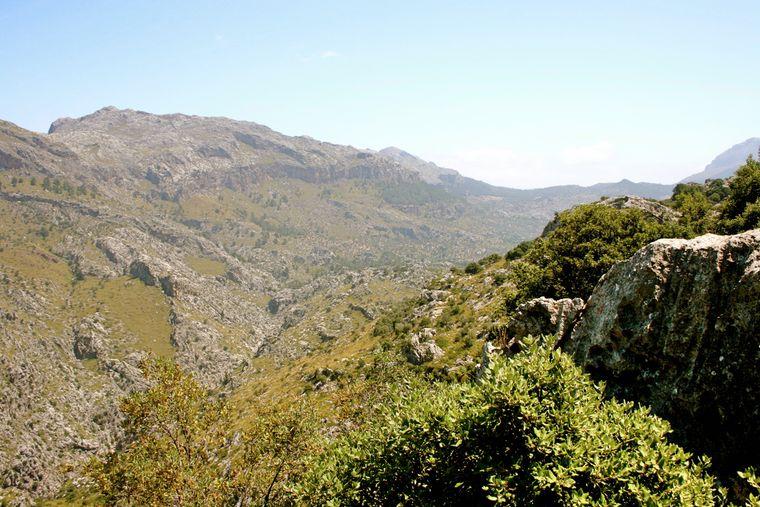 Hochland Sa Calobra Mallorca