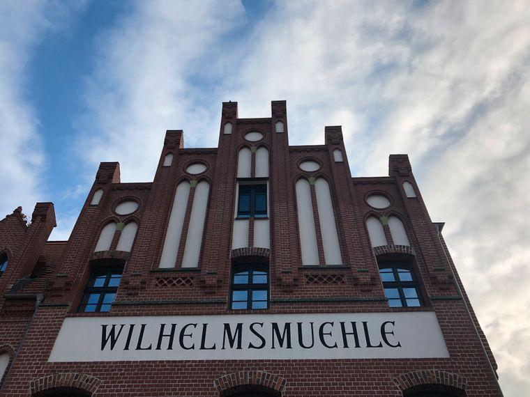 Nach dem des Elektrizitätswerkes gebaut: die Wilhelmsmühle.