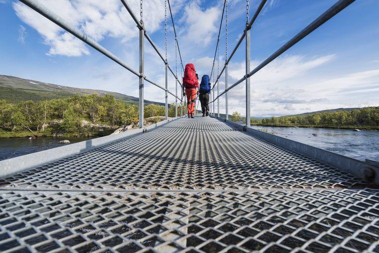 Der Kungsleden ist einer der beliebtesten Wanderwege in Schweden.