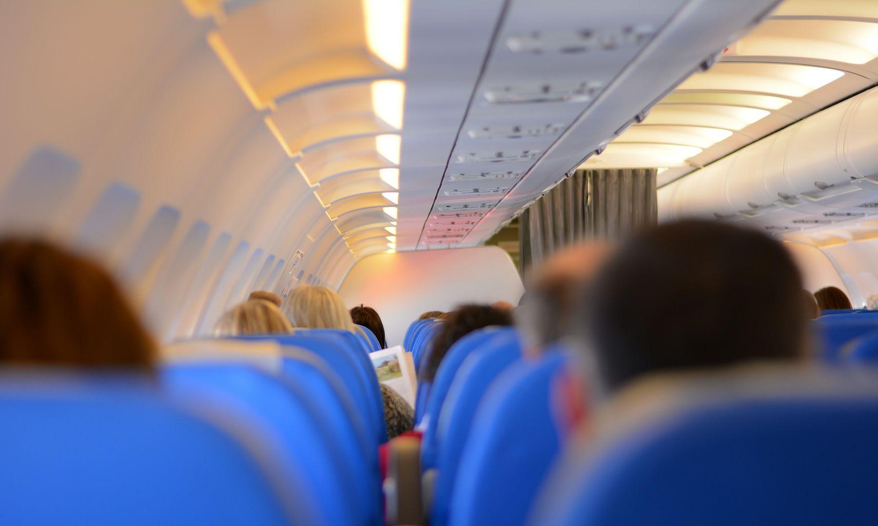Reiseübelkeit Flugzeug