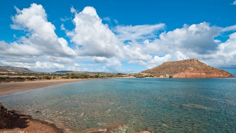 Der Chiona Beach auf Kreta.