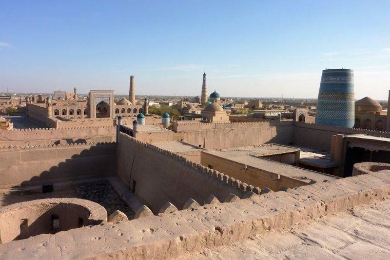 Die Oasestadt Chiwa, Usbekistan