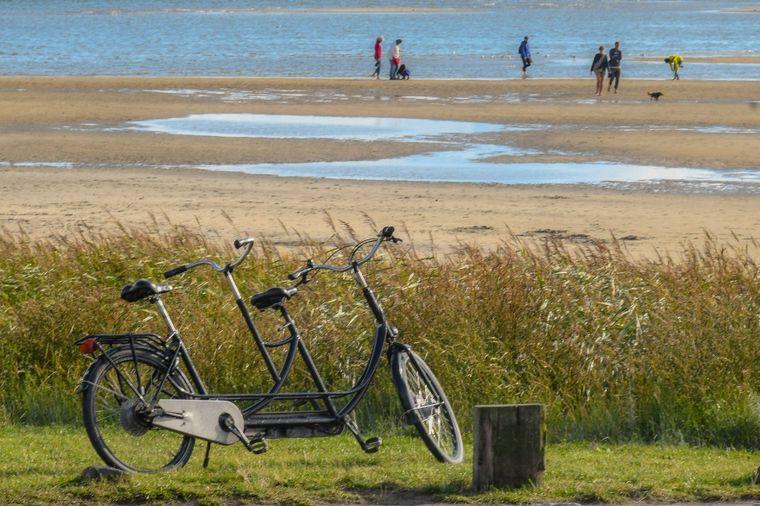 Die Insel Terschelling lässt sich hervorragend mit dem Fahrrad erkunden.