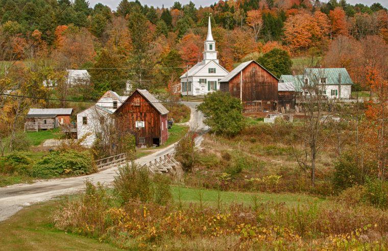 Früher war Vermont ein beliebtes Ausflugsziel fürs Wochenende – heute sind manche Orte menschenleer.