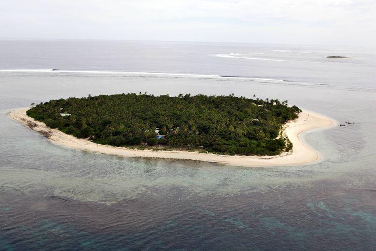 Teil der Fidschi-Inseln: das Surferparadies Tavarua.