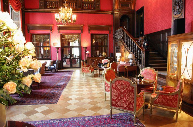 Das Schlosshotel Grunewald in Berlin.