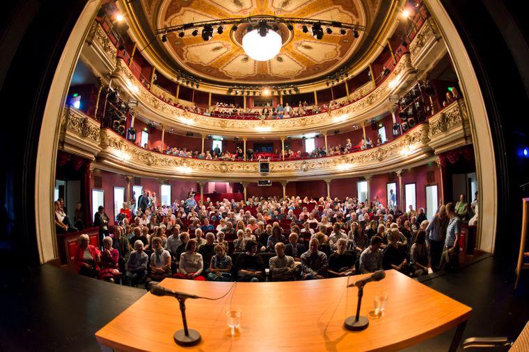 2017 präsentierte Gregor Gysi sein neues Buch in Göttingen