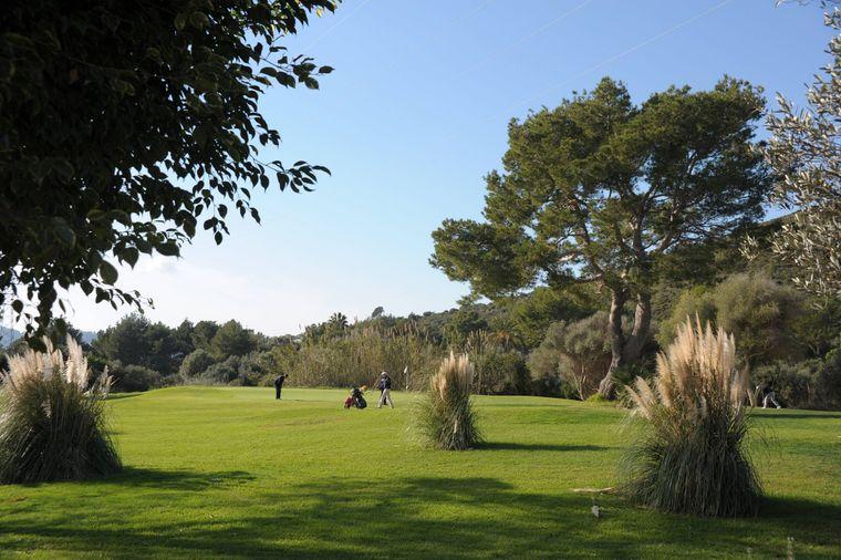 Der Capdepera Golf Club, hier das Loch 18.