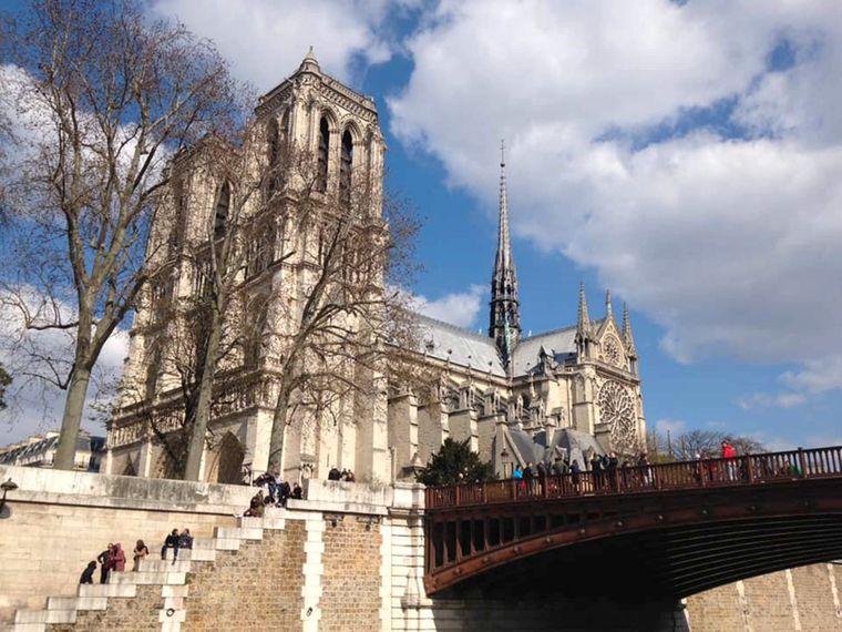 Das ist ein Lieblingsfoto von Stefanie Kalks, die im April 2015 in Paris war.
