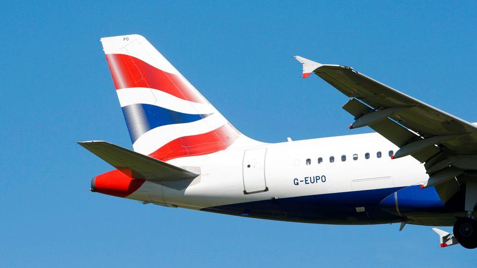 Airbus der British Airways.