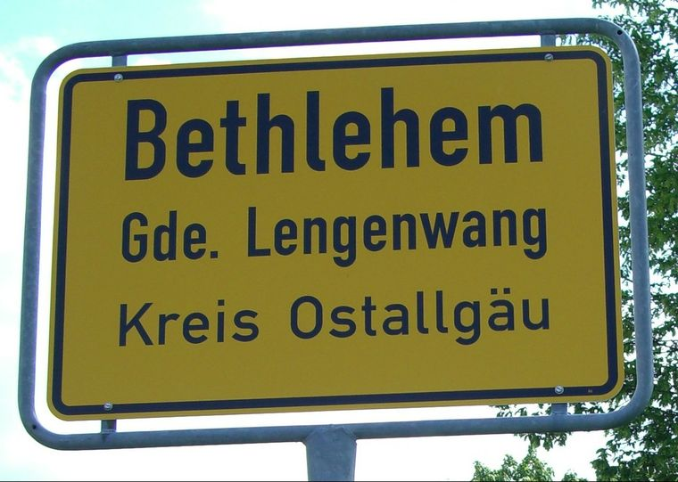Im Allgäu gibt es auch ein Bethlehem.