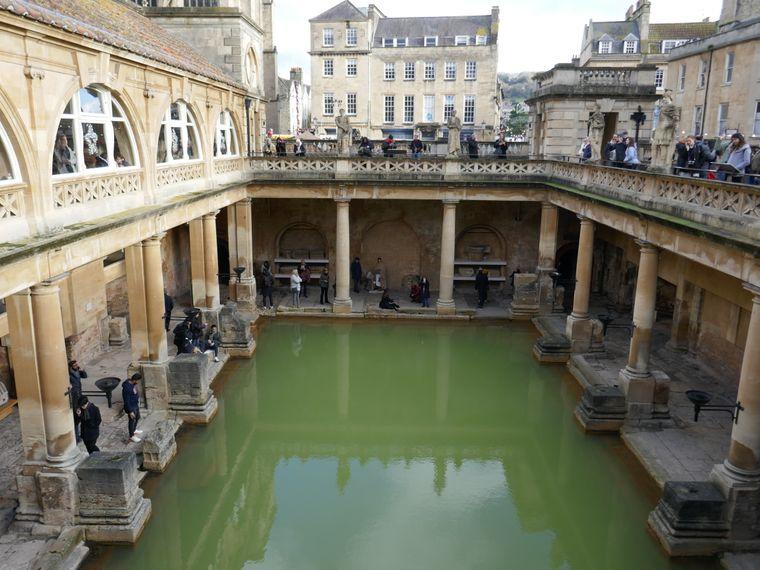 The Roman Bath – reinspringen verboten.
