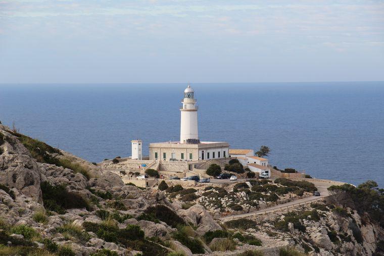 Ein toller Anblick von hier, ein toller Ausblick von dort: Cap de Formentor auf Mallorca.
